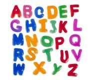 Alphabets de gelée Photo stock