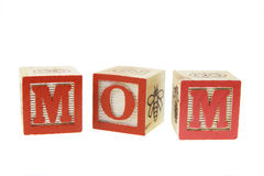 Alphabets - maman photographie stock