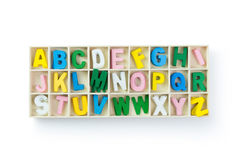 Alphabets Stock Images