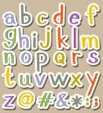 Alphabets Royalty Free Stock Photography