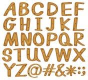 Alphabets Stock Photography