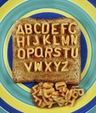 Alphabetti Photo libre de droits