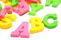 Alphabetzeichen stockbild
