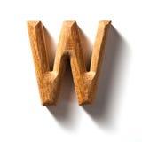 Alphabetzeichen (W) Lizenzfreie Stockfotos