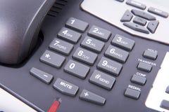 Alphanumeric keyboard of a landline Stock Image