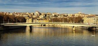 Alphone juinbro och Lyon i Frankrike Arkivbilder