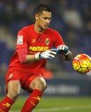 Alphonse Areola of Villareal CF Royalty Free Stock Photos