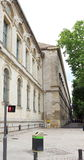 Alphonse Daudet Lyceum in french city of Nîmes. Alphonse Daudet Lyceum in in the french town of Nîmes is a high school in the neighbourhood of the Royalty Free Stock Photography