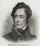 Alphonse de Lamartine Imagem de Stock Royalty Free