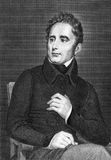 Alphonse de Lamartine Stock Photography