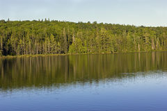 Alphonse Lake in La Mauricie National Park in Quebec Stock Photography