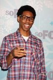 Alphonso McAuley arrives at the FOX TCA Winter 2011 Party Royalty Free Stock Photos