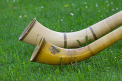 Alphorn Stock Photo