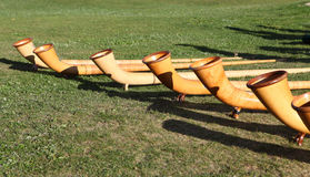 Alphorn Royalty Free Stock Images