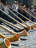 Alphorn Orchestra Royalty Free Stock Photo