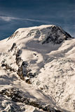 Alphubel e geleira. Fotografia de Stock Royalty Free