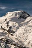 Alphubel en gletsjer. royalty-vrije stock fotografie