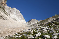 Alpi albanesi Fotografia Stock