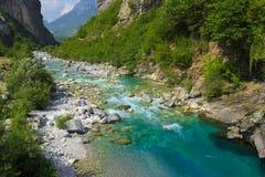 Alpi albanesi Fotografia Stock Libera da Diritti