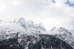 Alpi albanesi Immagini Stock