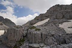 Alpi albanesi non trattate Fotografie Stock Libere da Diritti