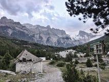 Alpi albanesi sceniche, Teth Fotografie Stock Libere da Diritti