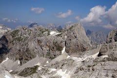 Alpi albanesi selvagge Fotografia Stock Libera da Diritti