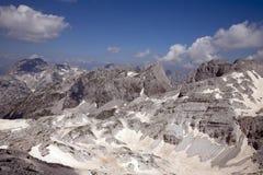 Alpi albanesi selvagge Immagini Stock