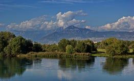 Alpi albanesi, Shkoder, Albania Immagini Stock