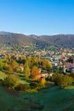 Alpi all'autunno, Italia Fotografia Stock