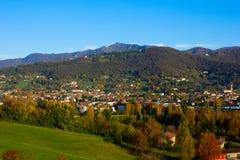 Alpi all'autunno, Italia Immagine Stock