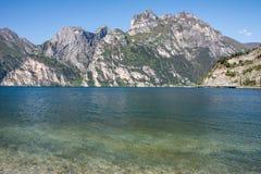 Alpi alla polizia del lago Immagine Stock Libera da Diritti