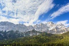 Alpi alpine Fotografia Stock