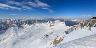 Alpi alpine Fotografie Stock