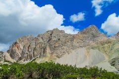 Alpi Alta Via 1 della dolomia Fotografie Stock Libere da Diritti