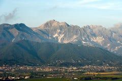 Alpi Apuane - alpi di Apuan - l'Italia Immagine Stock