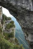 Alpi Apuane, Forte dei Marmi, Lucca, Tuscany, Italien B?ge av arkivbilder