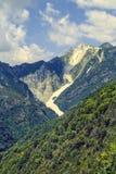 Alpi Apuane (Toscânia) Imagem de Stock Royalty Free