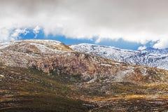 Alpi australiane - montagne di Snowy, Nuovo Galles del Sud, Australia Fotografia Stock