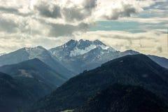Alpi in Austria Fotografia Stock Libera da Diritti