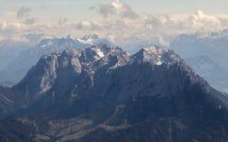 Alpi in Austria Fotografie Stock