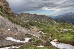 Alpi in Austria Immagini Stock Libere da Diritti