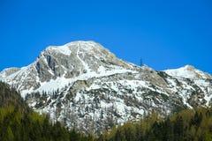 Alpi in Austria Fotografia Stock