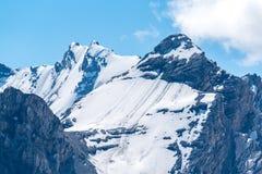 Alpi Austria delle alte montagne Immagine Stock