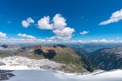 Alpi Austria delle alte montagne Fotografia Stock Libera da Diritti