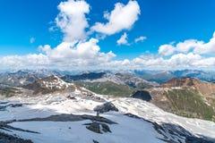 Alpi Austria delle alte montagne Immagini Stock Libere da Diritti