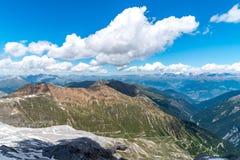 Alpi Austria delle alte montagne Immagine Stock Libera da Diritti