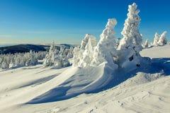 Alpi Austria di inverno Fotografia Stock Libera da Diritti
