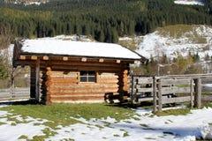 Alpi Austria di inverno Fotografia Stock