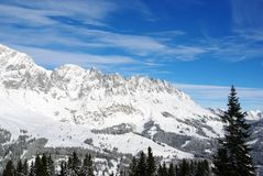 Alpi austriache Immagini Stock